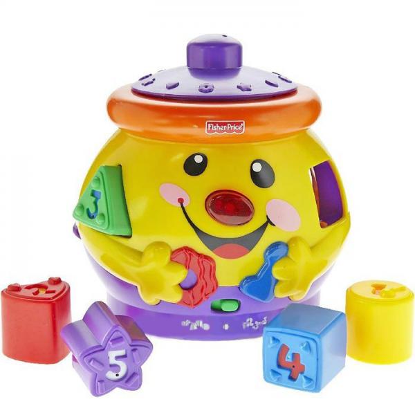 Fisher-price развивающая игрушка волшебный горшочек