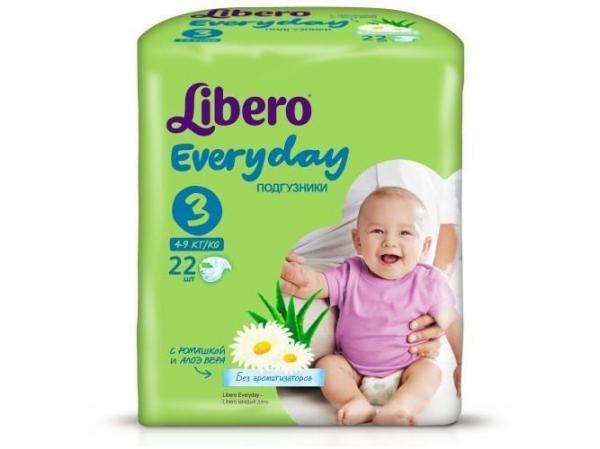 fe6ba1e251f2 Купить подгузники Libero Everyday Natural Midi
