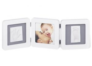 Рамочка Baby Art Double Prine Frame White & Grey (34120052) в интернет-магазине babypremium.com.ua