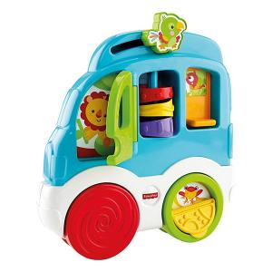 Fisher Price Автомобиль с животными Играй и исследуй 3582 в интернет-магазине babypremium.com.ua