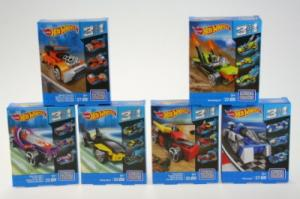 Hot Wheels Конструктор 3 в 1 серии Mega Bloks, в ассортименте CNF33 в интернет-магазине babypremium.com.ua