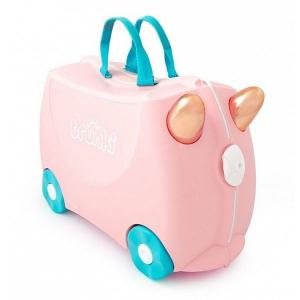 b0d982430e04 Trunki Детский чемодан на колесах Flossi The Flamingo TRU-0353  (5055192203536)