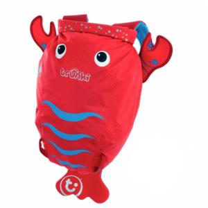 Trunki Рюкзак Blue PaddlePak Lobster (красный лобстер) 0113-GB01-NP (5055192201136) в интернет-магазине babypremium.com.ua