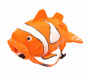 Trunki Рюкзак PaddlePak Clown Fish - Chuckles (Рыбка Клоун) 0112-GB01-NP (5055192201129) в интернет-магазине babypremium.com.ua