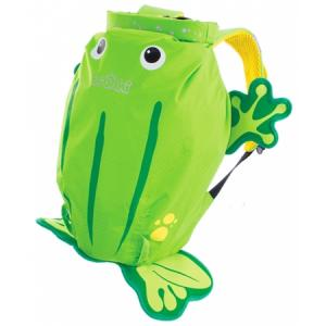 Trunki Рюкзак PaddlePak Frog - Ribbit (зеленая Жабка) 0110-GB01-NP (5055192201105) в интернет-магазине babypremium.com.ua