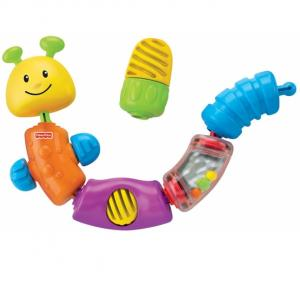 Fisher-Price Гусеница-конструктор (W9834) (746775094751) в интернет-магазине babypremium.com.ua