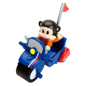 Fisher Price Фигурка Джулиуса на мотоцикле Julius Jr. Pullback Racer - Julius Invento-Cycle 3585 в интернет-магазине babypremium.com.ua