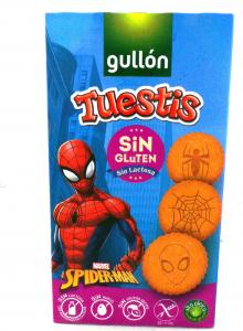 Gullon Печенье Tuestis Spider-man без глютена 400 г (8410376049381) в интернет-магазине babypremium.com.ua