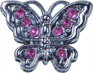 Tinto Аксессуар для сумки Silver butterfly AC2237.1 (73204990098) 61941175650c2