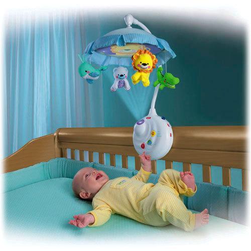 детский мобиль на кроватку